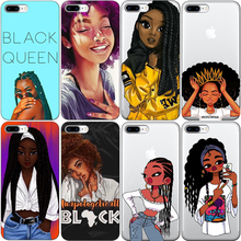 2bunz Melanin Poppin Aba hard plastic Phone Case for iPhone X 6 7 8 plus 5 5s 11 11PRO MAX 6s XR XS Max Fashion Black Girl Cover цены онлайн