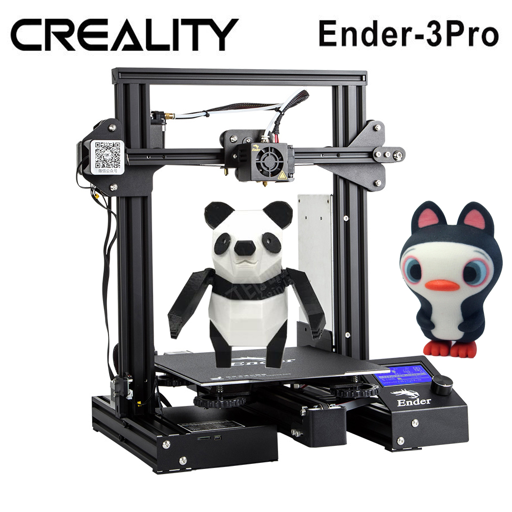Creality 3D Printer Ender 3 Pro 3D Printer High Precision 3D Printer Kit MK 10 Extruder
