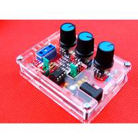 XR2206 Function Signal Generator DIY Kit Sine Triangle Square Output 1HZ 1MHZ