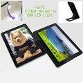 "10 ""joyplus qh tablet pc tela ips android 4.1 1 gb + 8 gb quad core GC4000 7000 mAh Dual Camera Wifi Cortex A9 tela de cinema como presente"