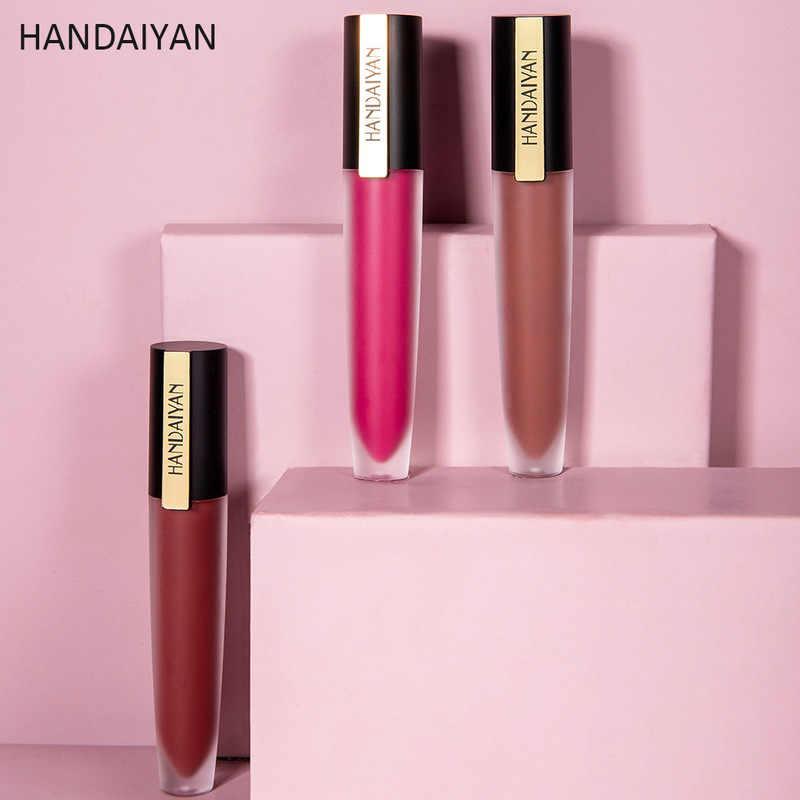 12 צבעים מט שפתונים עמיד למים מט שפתון שפתיים מקלות קוסמטי קל ללבוש מט Batom שפתון איפור Maquiagem TSLM2