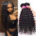Malaysian Deep Wave Virgin Hair 3 Bundles 7A Malaysian Virgin Hair Deep Wave Malaysian Hair Weave Curly Weave Human Hair Bundles