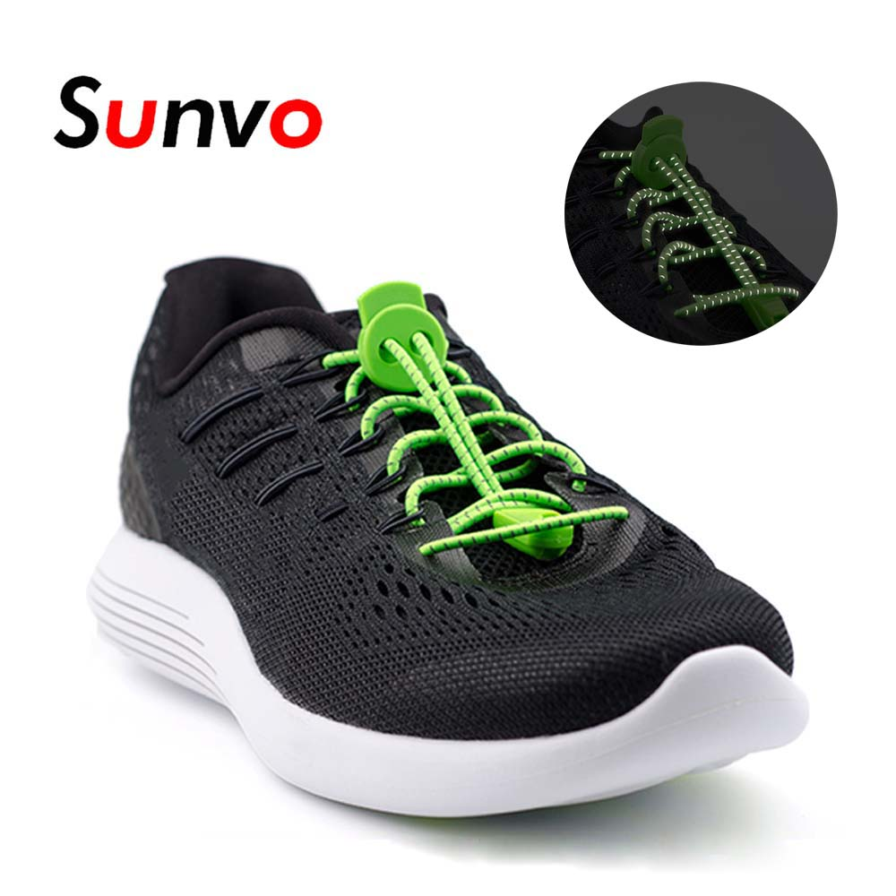 Shoe Canvas Shoes Night Safety  Luminous Glowing shoestring Reflective Shoelace