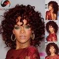 8A grado virginal del pelo humano peluca del cordón del frente pelucas de cabello humano 99j Color Glueless pelucas llenas del cordón para la navidad
