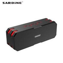 F4 sardynka przenośny głośnik wodoodporny IP65 12 W 5200 mAh akumulator MP3 soundbar bluetooth odbiornik do komputera telefonu