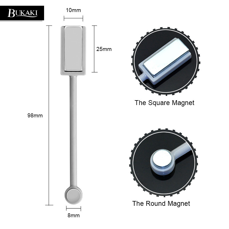 BUKAKI 1pcs New Double-headed Magnetic Plate Magnet for All 3D Magic Cat Eyes Magnet Gel Nail Polish Nail Art DIY Tool
