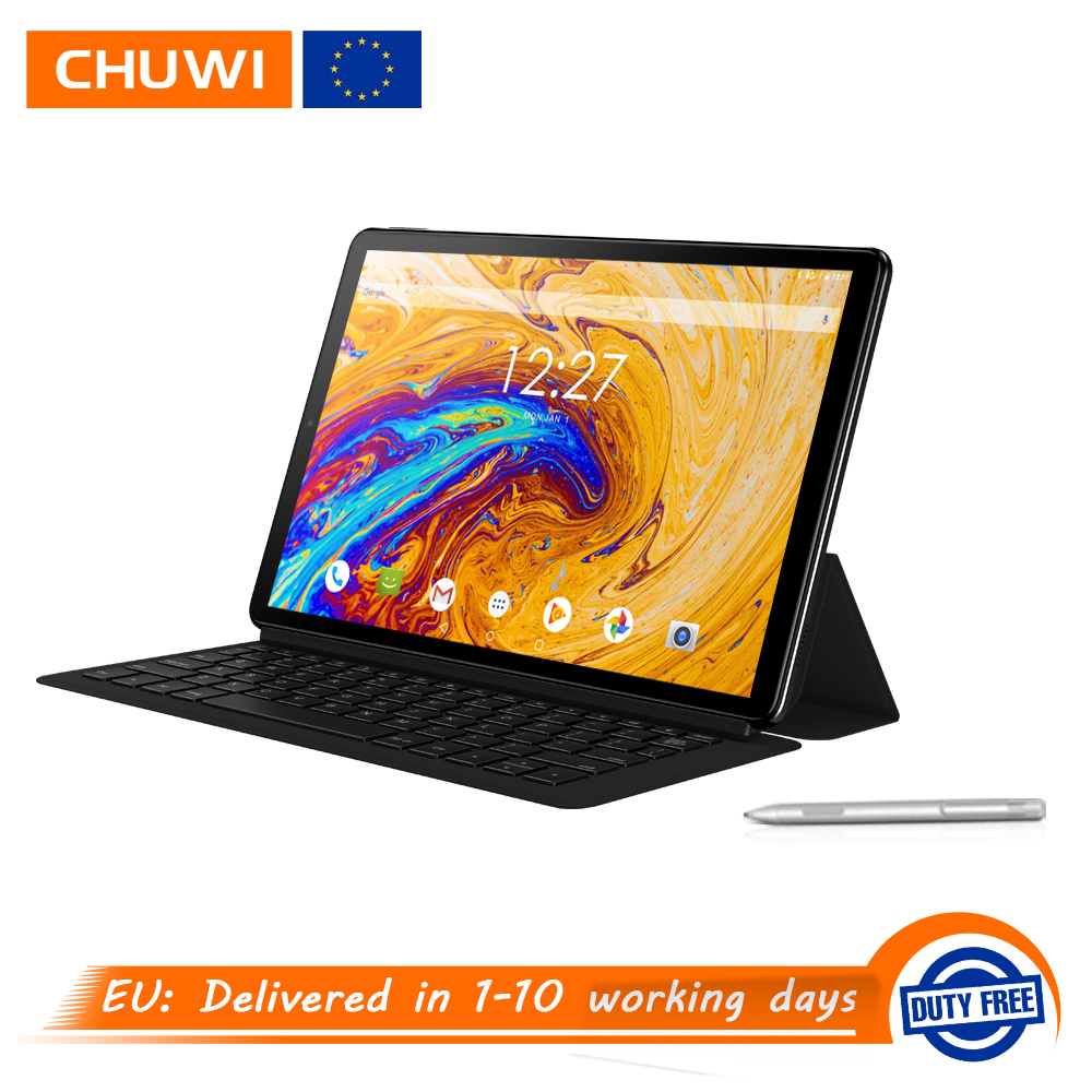 CHUWI Hi9 Plus 10.8 inch 2560*1600 Display MTK6797 X27 Deca Core 4GB 128GB Android 8.0 Tablets Dual Wifi Dual Cameras 7000mAh-in Tablets from Computer & Office