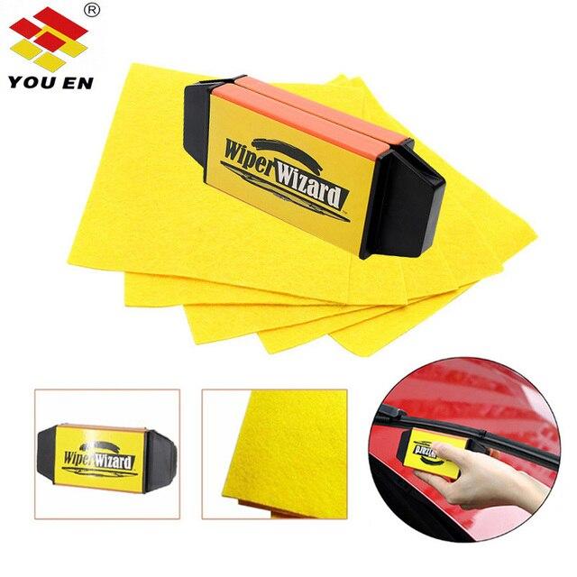 Limpadores de Carro YOUEN Reparação Windshield Wiper blades Windshield Wiper Cleaner Wiper Restaurador Cleaner de Limpeza Acessórios Do Carro