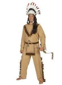 """Vyriški drabužiai kostiumai """"Halloween"""" laukinių žmonių kostiumai """"cosplay"""" drabužiai Indijos laukiniai drabužiai"""