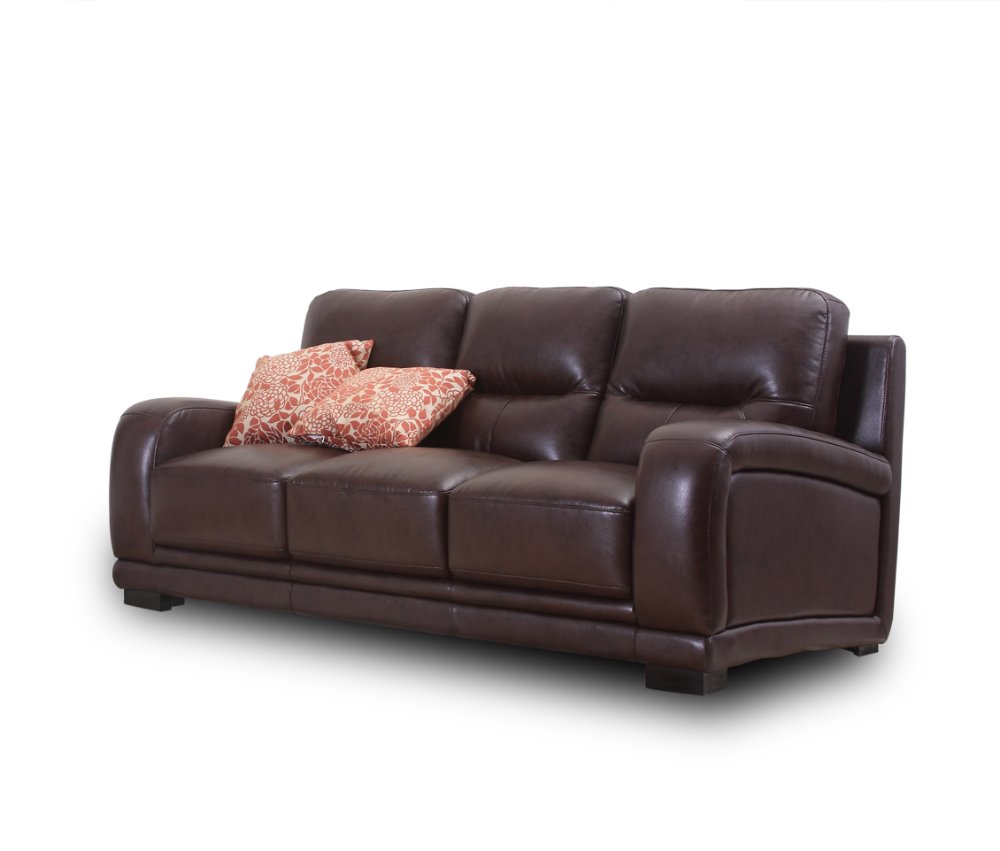 Modern furniture living room leather sofa 3 seater for 4 living furniture