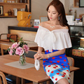 Original 2016 Brand Chemise Femme Plus Size Slim Elegant Casual Women Korean Summer White Bow Poncho Sexy Blouse Wholesale
