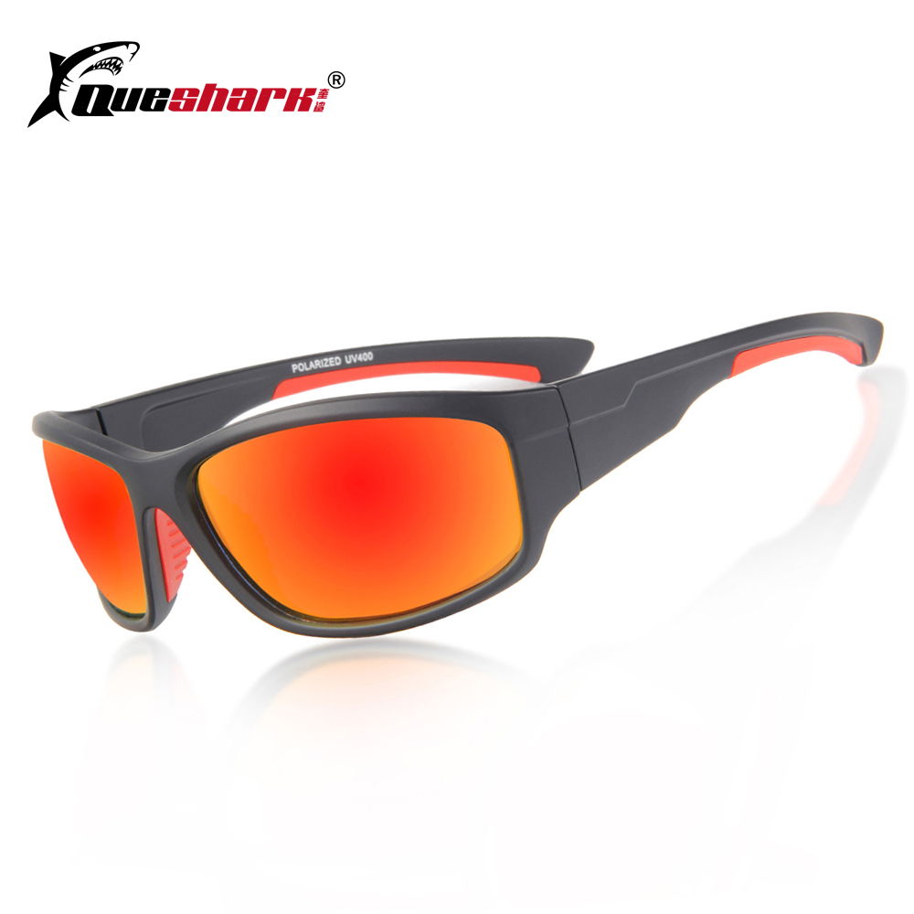 3c757d77a0 QUESHARK Uv400 Sports Cycling Sunglasses Mountain Road Bike Polarized  Glasses Driving Hiking Fishing Goggles Bicycle Eyewear-in Cycling Eyewear  from Sports ...