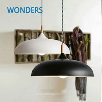 Nordic Style Wooden Pendant Lights Decorative Pendant Lights High Quality hanging Lamps bar hotel restaurant bookshop decor
