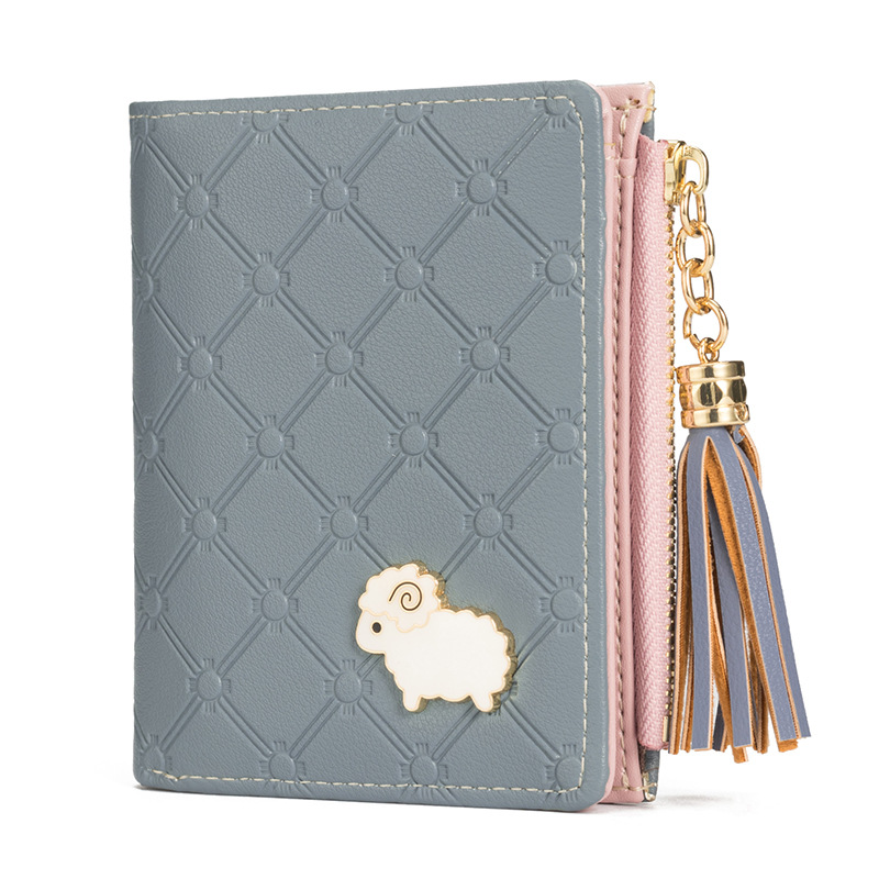 Miyahouse Short Wallet Coin Purse Clutch Controlled Female's Small Fashion High-Quality