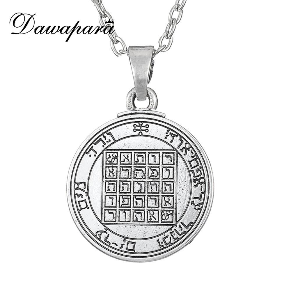 Talisman For Love Tetragrammaton Seal of Solomon Pentacle Pentagram Bracelet Men