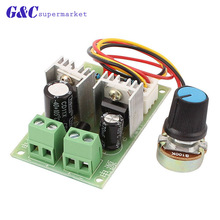 DC12V-36V Motor Speed Control Regulator PWM Motor Speed Controller Switch 3A Current Regulator High Power Drive Module thb7128 step motor drive control panel 128 3 a current subdivision control module
