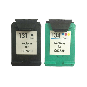 Vilaxh 131 Compatible con reemplazo de cartucho de tinta para HP 131 de 134 para Officejet 100 L411a L411b L511a H470 H470b H470wf K7100 K7103