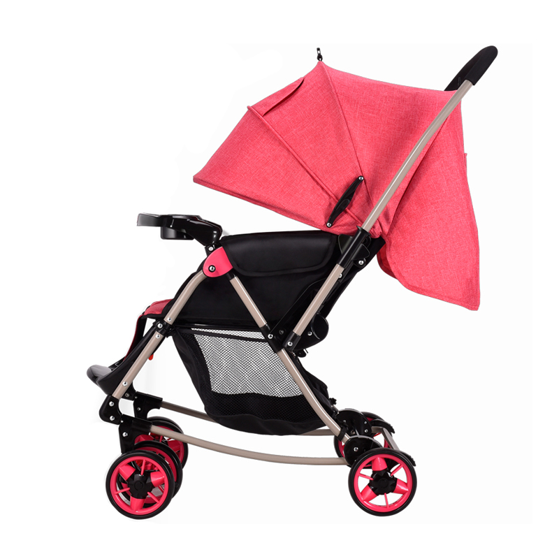 Foldable Baby Trolley Can Sit and Lie with High Landscape Four Seasons use sometimes i lie