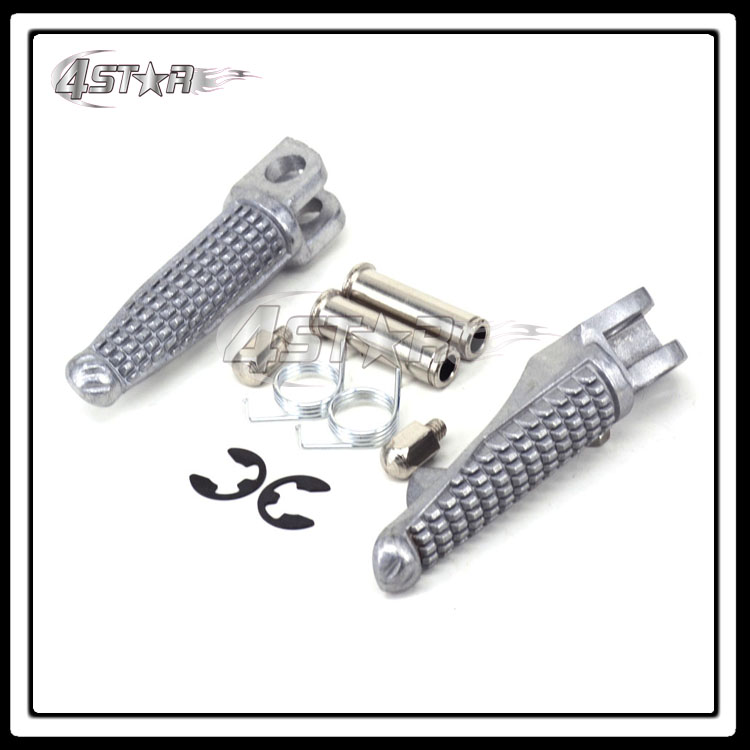 Front Footrest Foot Pegs Rest Pedals For ZX6R ZX 6R ZX636