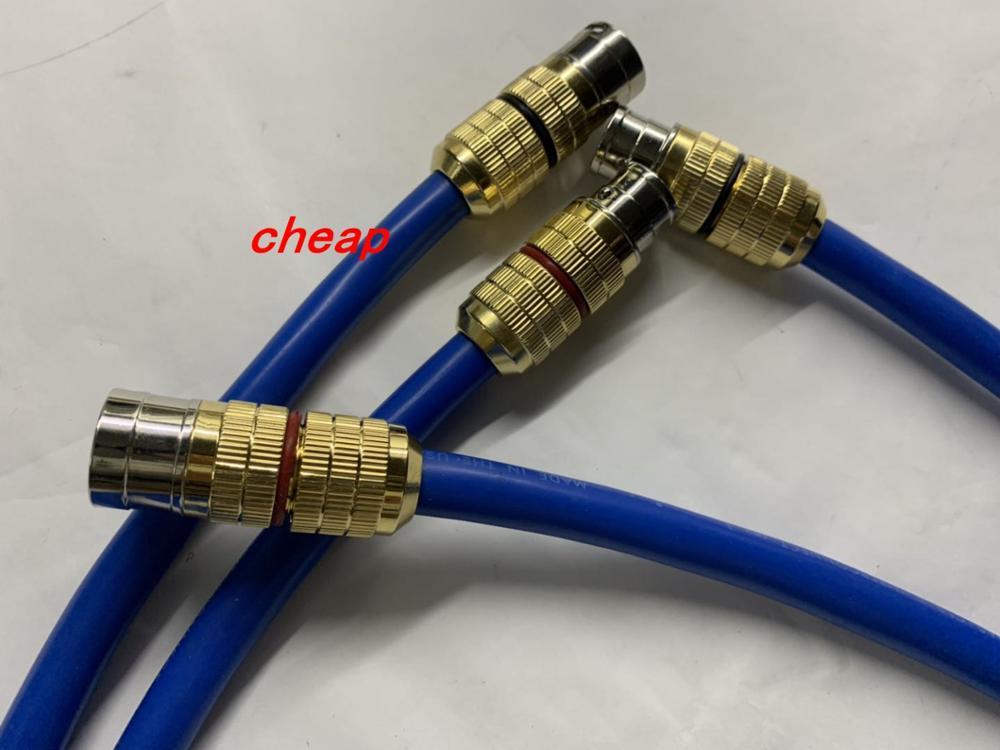 Câble d'interconnexion de lumière claire Cardas connecteur XLR à XLR