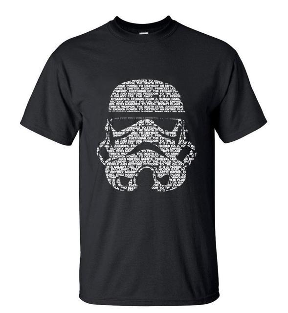 Homens Verão 2016 Moda star wars Yoda/Darth Vader Original Masculino Streetwear T-Shirt Homem Camisas Casual T máscaras Palavras Hip Hop