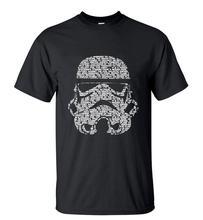 Men 2016 Summer Fashion star wars Yoda/Darth Vader Unique Masculine Streetwear T-Shirt Man Casual T Shirts masks Words Hip Hop