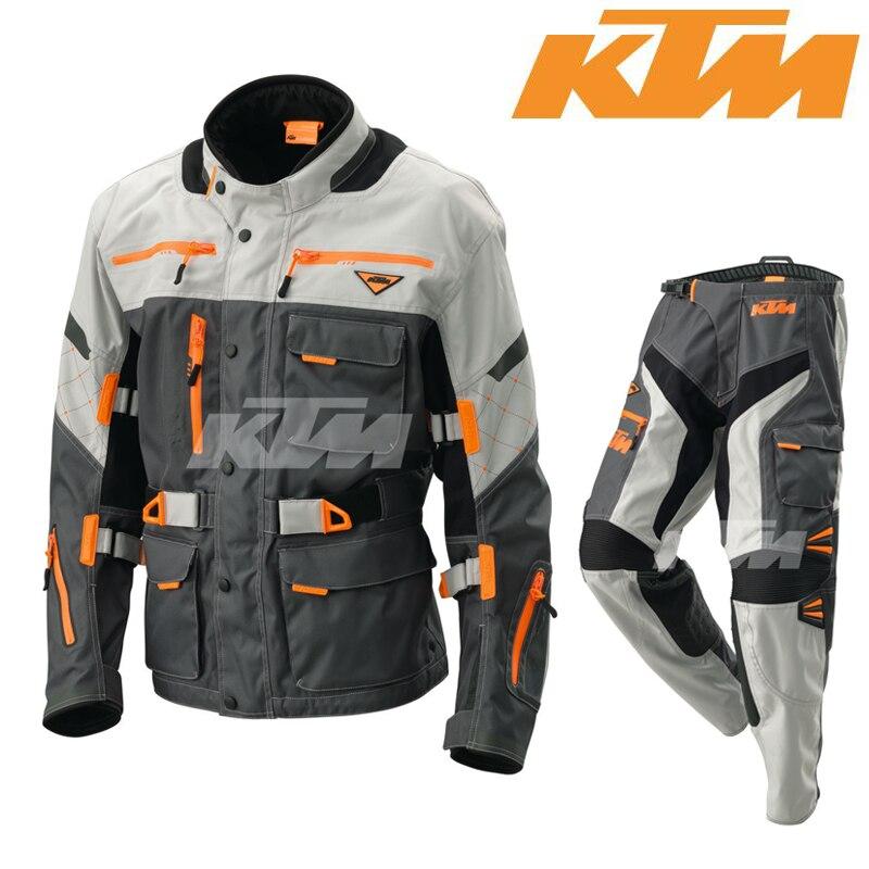 Trajes de moto KTM enduro cross defensor chaqueta pantaloni pantalones rally ATV motocross chaqueta + pantalones