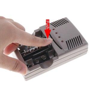 Image 4 - Светодиодный светильник PALO C819, умное зарядное устройство для никель металлогидридных аккумуляторов, аккумуляторных батарей типа AA/AAA, для литий ионных батарей, 9 В, 6F22, вилка стандарта США и ЕС