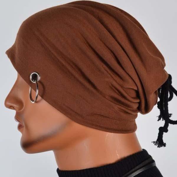 Hot Sale Unisex Casual Knitted Cap Fashion Solid Color Hip-hop Beanies Hat Women Men Snap Slouch Skullies Caps Bonnet Gorro