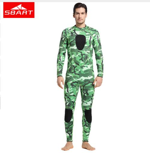 SBART3mm Neoprene Men Scuba Diving Suit keep Warm Long Sleeve One-piece Wetsuit Anti-Jellyfish Snorkeling Surfing SwimwearSBART3mm Neoprene Men Scuba Diving Suit keep Warm Long Sleeve One-piece Wetsuit Anti-Jellyfish Snorkeling Surfing Swimwear