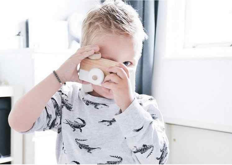 Деревянная камера, игрушки, модель для детской комнаты, фото, предметы мебели, INS, детские подарки на Рождество, день рождения, скандинавские, европейские