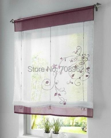 fita bordado rstico elevvel cortinas romanas moda gaze acabado curtians pcschina mainland
