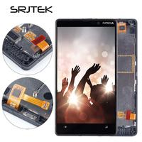 Srjtek 4 3 LCD For Nokia Lumia 820 Display Touch Screen With Frame For Nokia 820