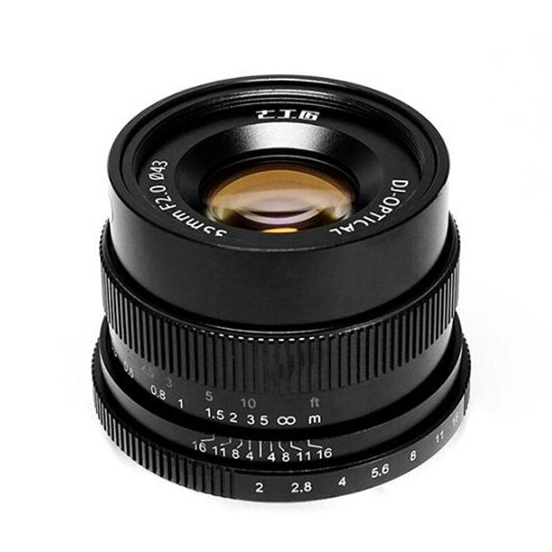 7artisans 35mm F2.0 full frame Lens for Micro single camera E mount ...