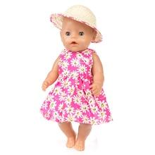 Nuevo vestido + sombrero Wear fit para 43 cm Zapf bebé muñecas los niños  mejor regalo e5c0636cbac