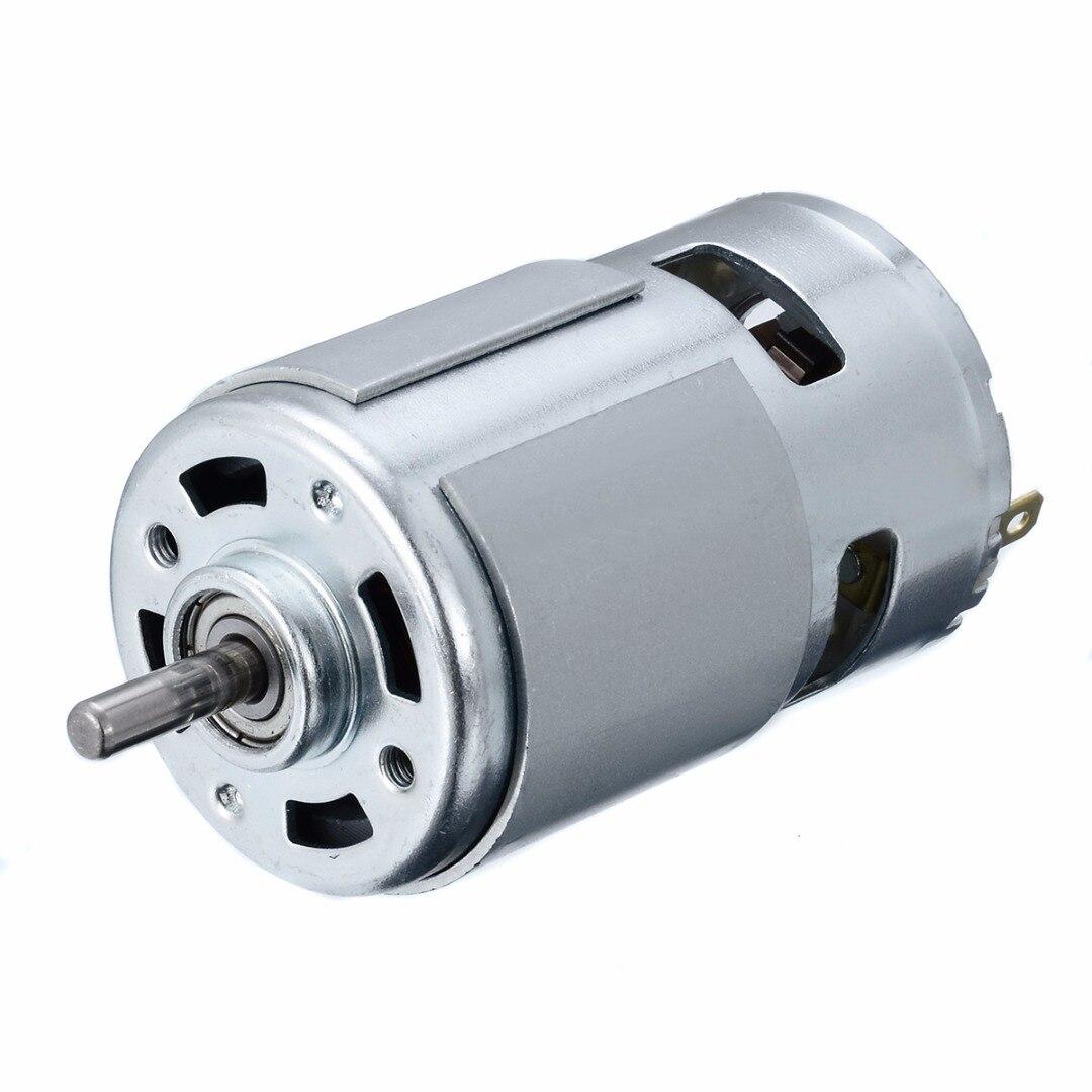 1 pz Affidabile 775 Micro Motore di CC 12-24 V 150 W 13000-15000 RPM Elettrico I Motori di Potenza Ad alta Velocità 5mm Albero Per Pompa di Lavaggio Auto spruzzatore