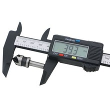 Wholesale prices 1 PC New 0-150mm 6inch LCD Digital Electronic Carbon Fiber Vernier Caliper Gauge Micrometer Measuring Tool VEP33 T30