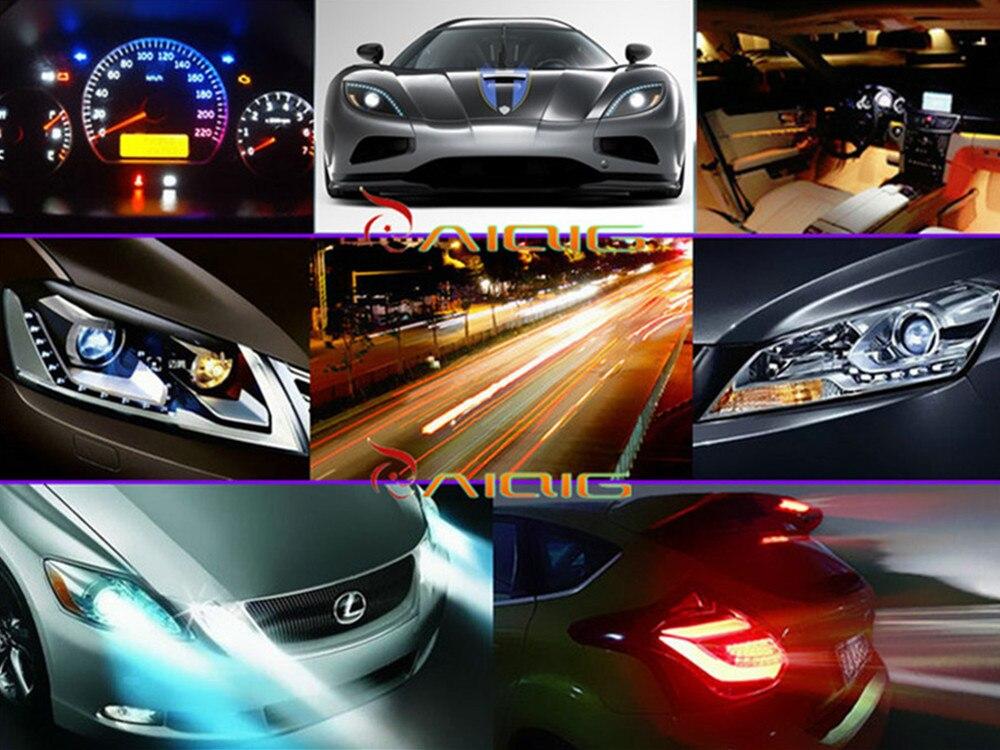 10 шт T10 галогенные W5W 194 холодный белый 5W Ксеноновые галогенные лампы сигнальный внутренний автомобильный светильник лампа 8000K