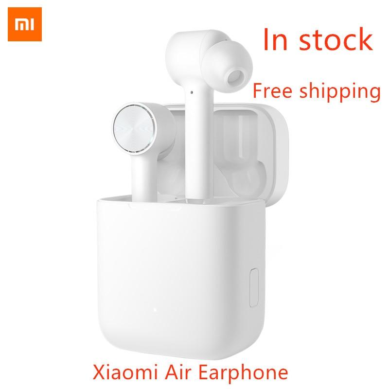 Stokta Xiaomi mi hava TWS Bluetooth Kulaklık mi AAC HD SES GÜRÜLTÜ azaltma Dokunmatik kablosuz Bluetooth mikrofonlu kulaklık kulakiçi