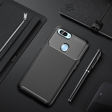 For OPPO Realme 2 Case Silicone Shell Carbon Fiber TPU High Quality Diamond Grid Design Cover Realme2