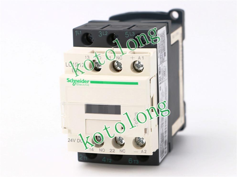 DC Contactor LC1D12 LC1D12BD LC1-D12BD 24VDC LC1D12CD LC1-D12CD 36VDC LC1D12DD LC1-D12DD 96VDC LC1D12ED LC1-D12ED 48VDC new lp2k series contactor lp2k06015 lp2k06015md lp2 k06015md 220v dc
