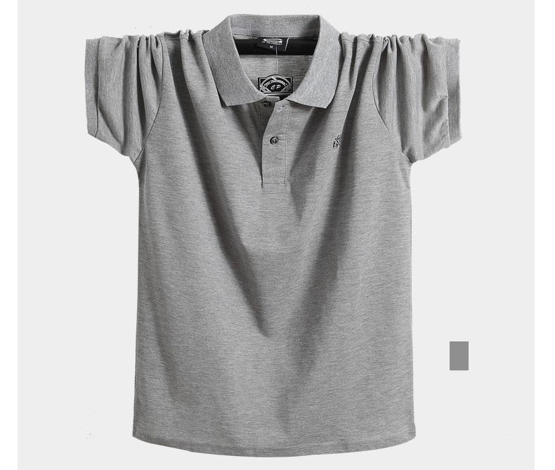 2018 Summer Men Polo Shirt Brand Clothing Pure Cotton Men Business Casual Male Polo Shirt Short Sleeve Breathable Polo Shirt 5XL 9