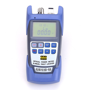 Image 2 - Kelushi tudo em um medidor de potência óptica de fibra 70 a + 10dbm 1mw 5km testador de cabo/localizador visual de falhas/testador de cabo ftth
