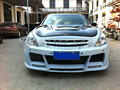 Car Accessories FRP Fiber Glass Elite Style Front Bumper Fit For 2010-2013 G25 G37 4D Sedan Car-styling
