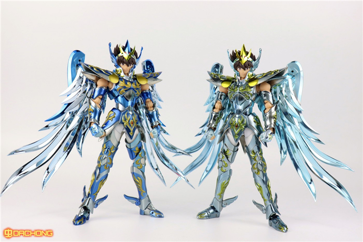 Pegasus Seiya V4 10th Aniver Version God Cloth EX Metal Armor Great Toys GT EX Bronze Saint Seiya Myth Cloth Action Figure S23 saint cloth myth ex pegasus seiya new bronze cloth from saint seiya action figure