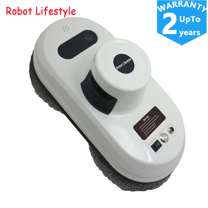 Ship From Russian Warehouse Remote control wet and dry robot window cleaner window cleaning robot