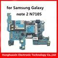 16 gb motherboard mainboard original para samsung galaxy note2 n7105 desbloqueado versión europea n7105 androide sistema de lógica