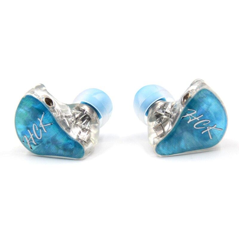 bilder für Neue NiceHCK DZ8 In Ohr Kopfhörer 8BA Antriebseinheit DIY HIFI Überwachung Kopfhörer Ohrhörer Headset Mit MMCX Schnittstelle Kostenloser Versand
