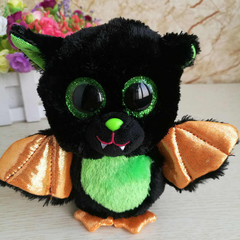 630323d920e ... Ty Beanie Boos Collection 6 inch Black Bat Stuffed Animal Doll Halloween  Day Gift Boy Toy ...
