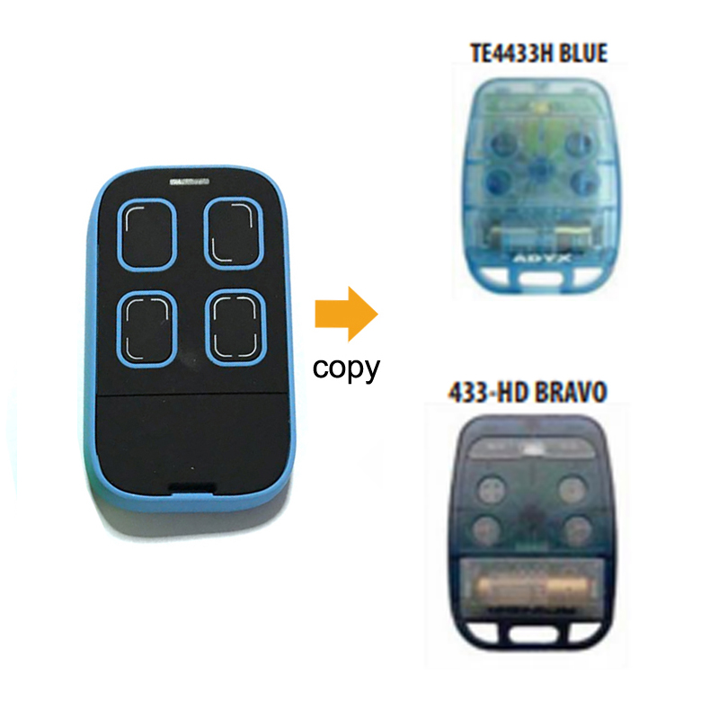 Compatible ADYX rolling code 433mhz remote control duplicator multi frequency Universal compatible adyx rolling code 433mhz remote control duplicator multi frequency universal